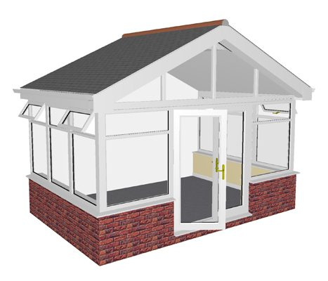Gable end 600