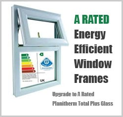 a rated conservatory windows