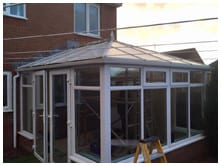j snow tiled roof conservatories review image 1