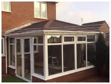 j snow tiled roof conservatories review image 2