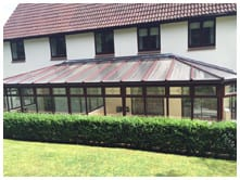 robinsons tiled roof conservatories review image 1