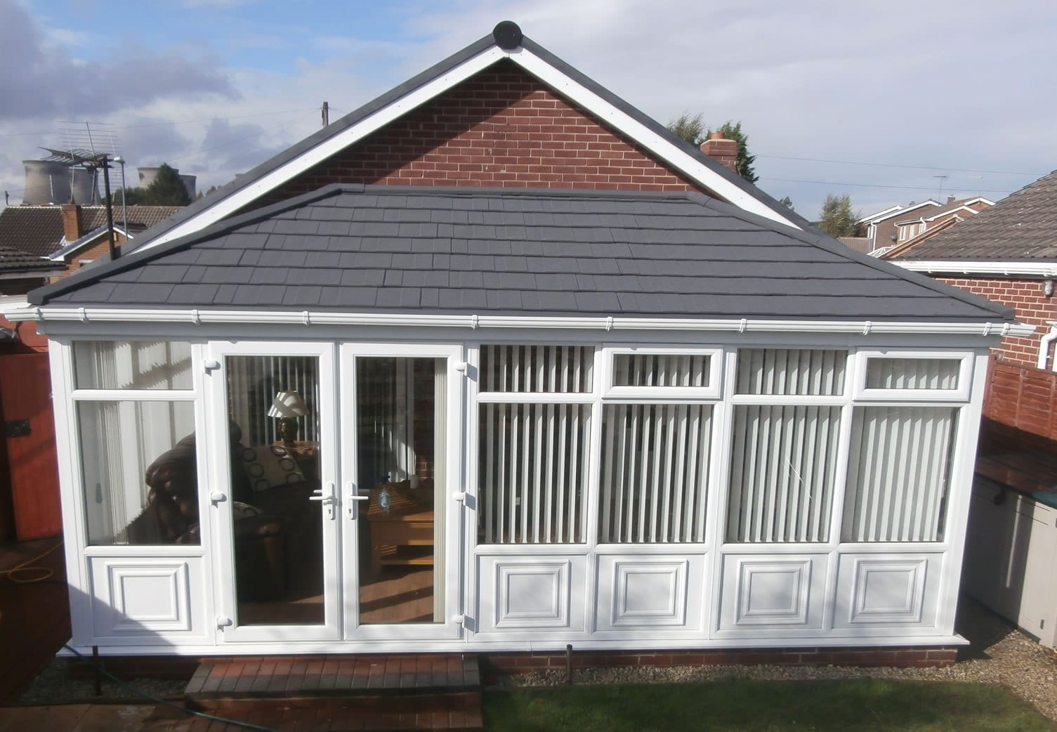 sarah baker pearce tiled roof conservatories review image 1