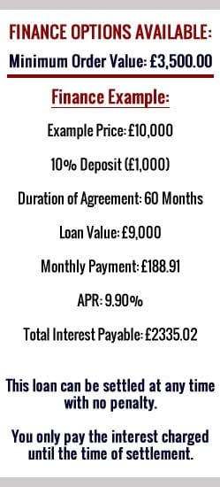 diy conservatories finance options