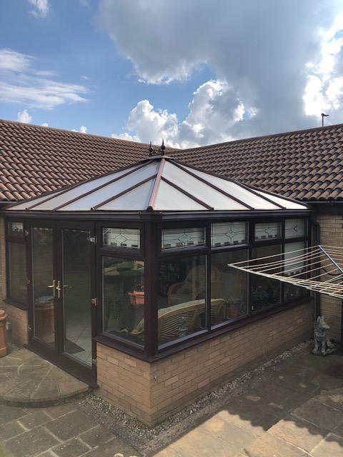 david and laura sheffield tiled conservatory review
