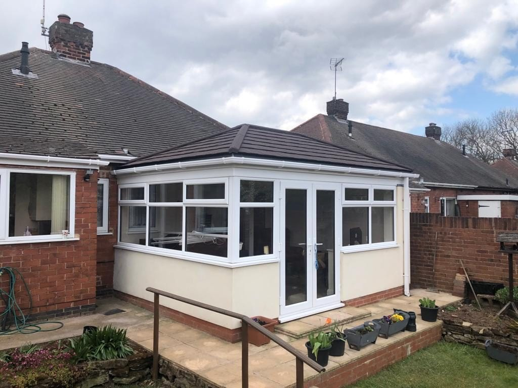 tom and emma tiled conservatory review