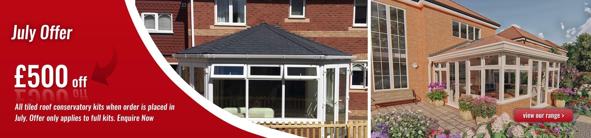 tiled roof conservatories july 2020 offer banner